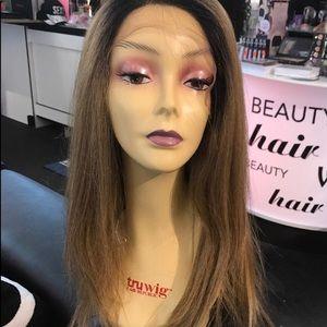 Accessories - Ombré wig Lacefront Blonde Mix Swisslace Lacefront